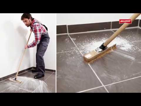 MELLERUD – DIY video with tips on tiles and building materials EN