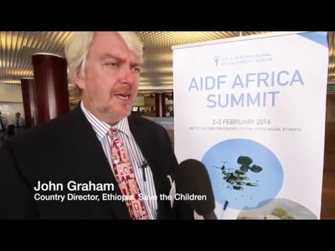 AIDF Africa Summit 2016 - John Graham, Save the Children