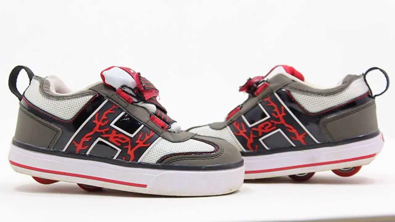 Skate shoes difference - Heelys Hx2 Bolt Lighted Skate Shoe Ebay Youth Size 12 C