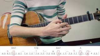 張信哲 [從開始到現在] 前奏吉他教學