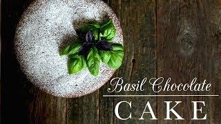 Basil Chocolate Cake   Kitchen Vignettes   PBS Food