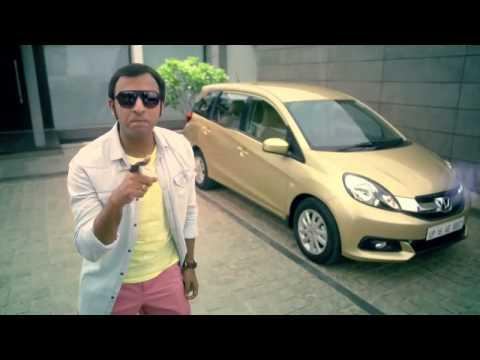 Stylish and spacious 7-seater Honda Mobilio car available in Magnum Honda Bangalore