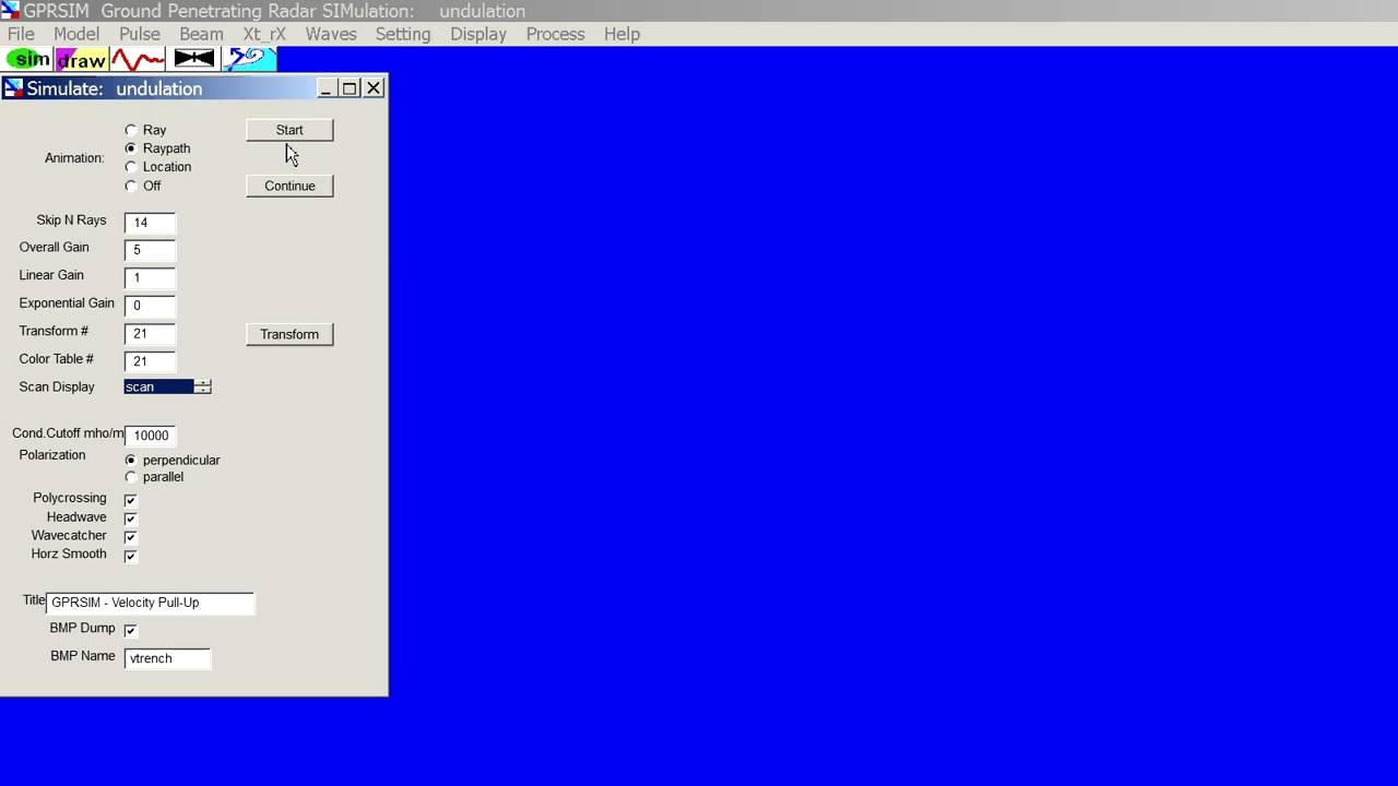 Python Radar Simulation