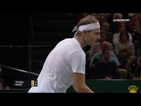 Рафаэль Надаль – Жо-Вильфрид Тсонга | ATP Masters Париж – обзор матча