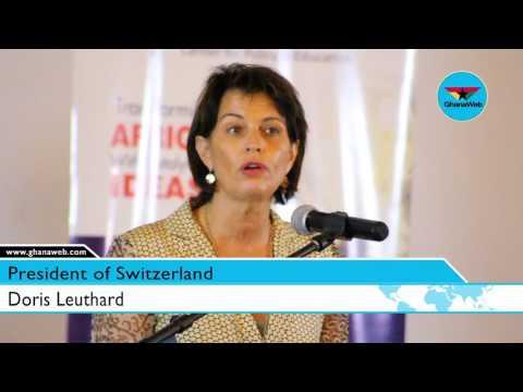 Ghana leads Switzerland in mobile phone penetration – Swiss President
