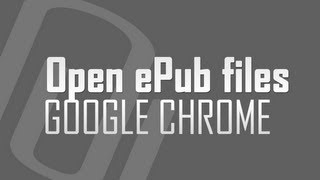 How to open epub files in Google Chrome