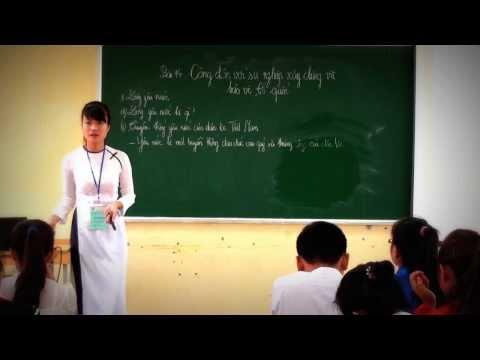 NVSP VII: Giảng Môn Giáo dục công dân