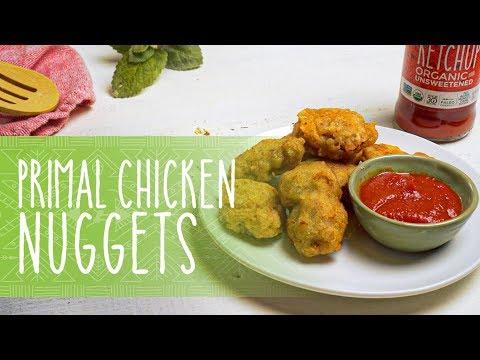 Gluten Free Primal Paleo Chicken Nuggets