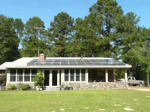 Raleigh 9kw Solar Panel PV Installation by Sun Dollar Energy, LLC