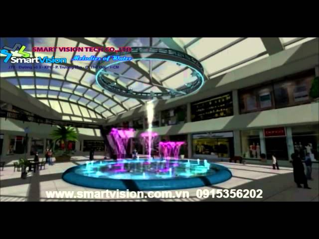 HN   THM   circle fountain