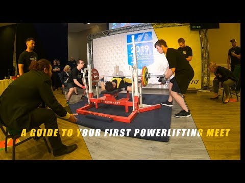 GUIDE TO YOUR FIRST POWERLIFTING MEET | Paperwork | Equipment