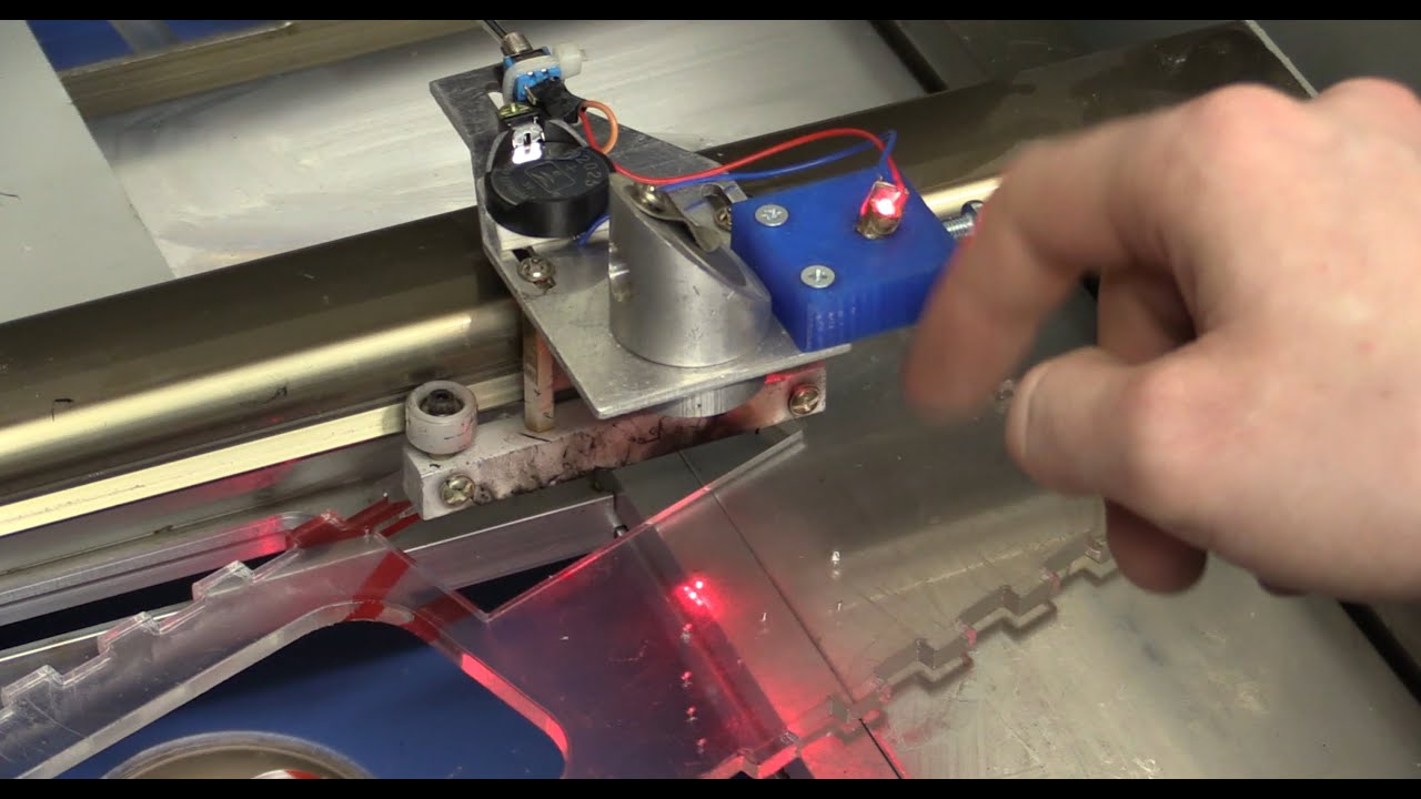 40w Laser Cutter Upgrade Making A Red Dot Quot Cut Indicator