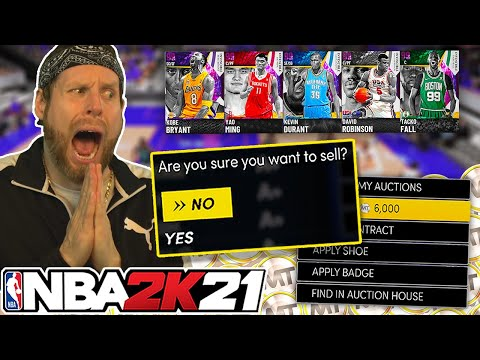 If I lose, I quicksell my team. NBA 2K21