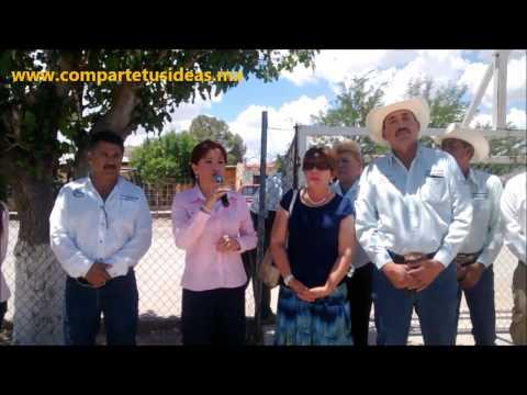 ENTREGA APOYOS BERTHITA GÓMEZ DE DUARTE EN EL MUNICIPIO DE JANOS.