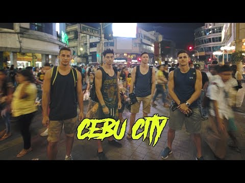 THE TIMES SQUARE OF CEBU!! (Exploring Philippines ft Charlie Sutcliffe)