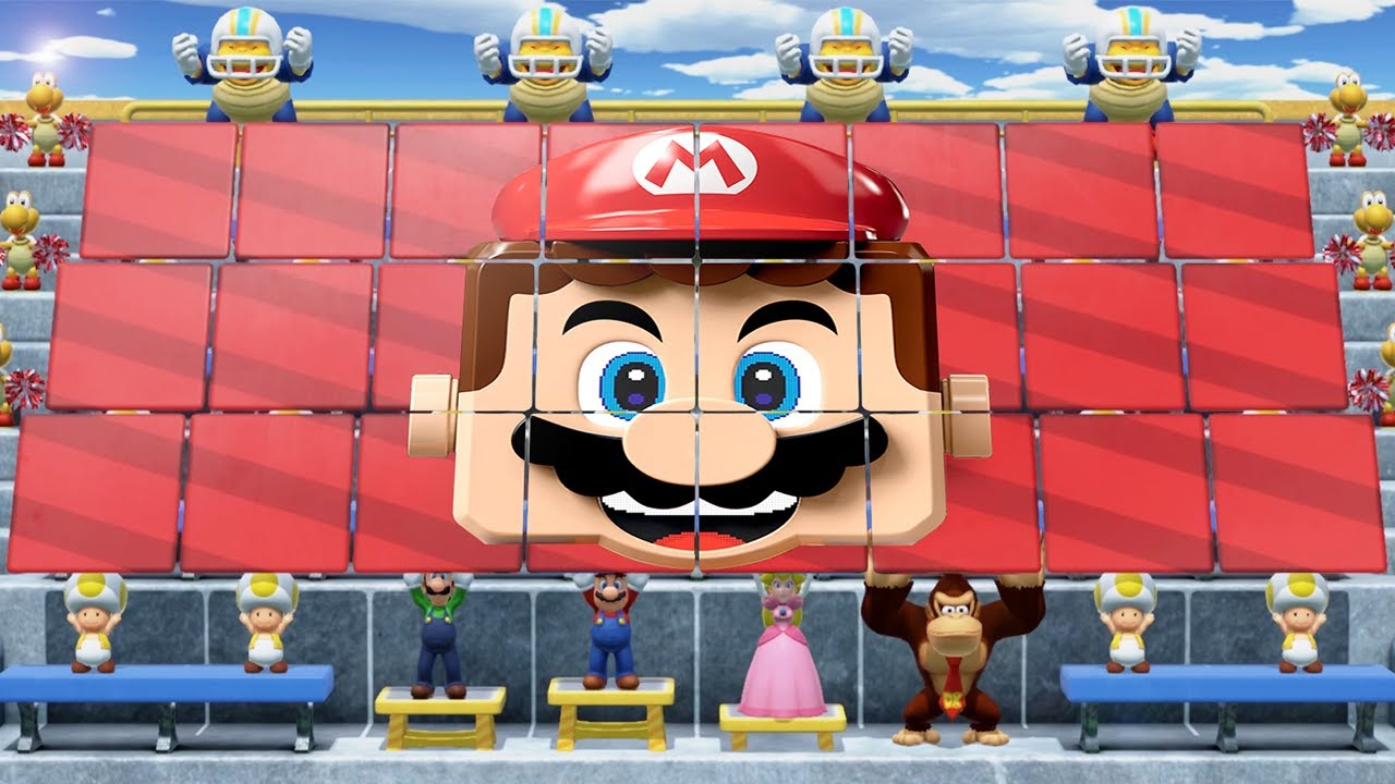 Super Mario Party MiniGames - Mario Vs Peach Vs Donkey Kong Vs Luigi (Master Cpu)