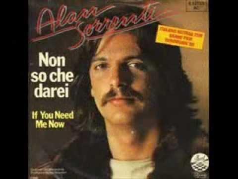 Alan Sorrenti  Non So Che Darei 1980