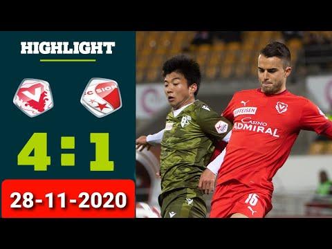 Vaduz Sion Goals And Highlights