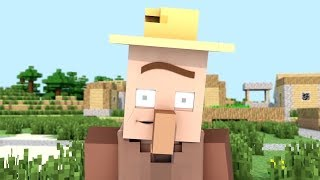 ✅  Villager Life Song : Father's Childhood -  Minecraft Animation in Monster School