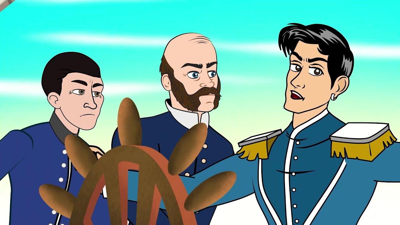 A Pequena Sereia   Série Episódio 10 - O Iceberg Magico  Desenho animado com Os Amiguinhos