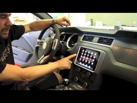 Ford Mustang Ipad Mini Dash Mount Youtube