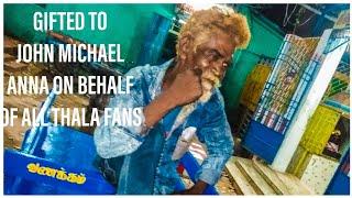 Gifted To John Michael Anna on Behalf Of All Thala Fans | Ajith Kumar - Thala Mohan