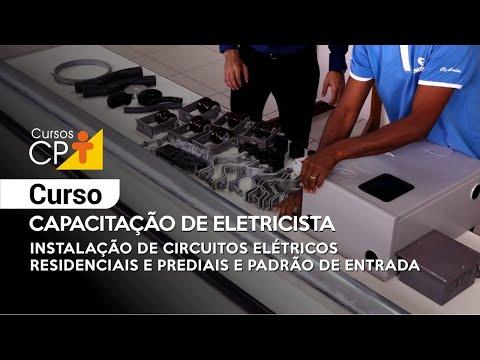 Clique e veja o vídeo Curso Capacitação de Eletricista - Instalação de Circuitos Elétricos Residenciais e Prediais e Padrão de Entrada