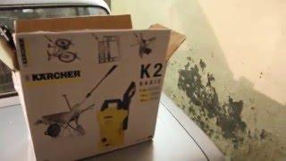 Как мыть машину керхером в гараже.(В этом видео покажу как у меня сделана система для подачи воды в Karcher K2 Basic в гаражных условиях., 2016-01-17T19:44:33.000Z)