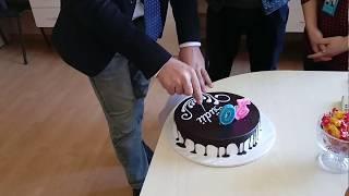 Tanınmıs aparıcıya ad gunu surprizi Happy Birthday Elnur