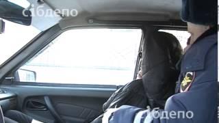 Наркоман протаранил забор школы №14 в Кемерово