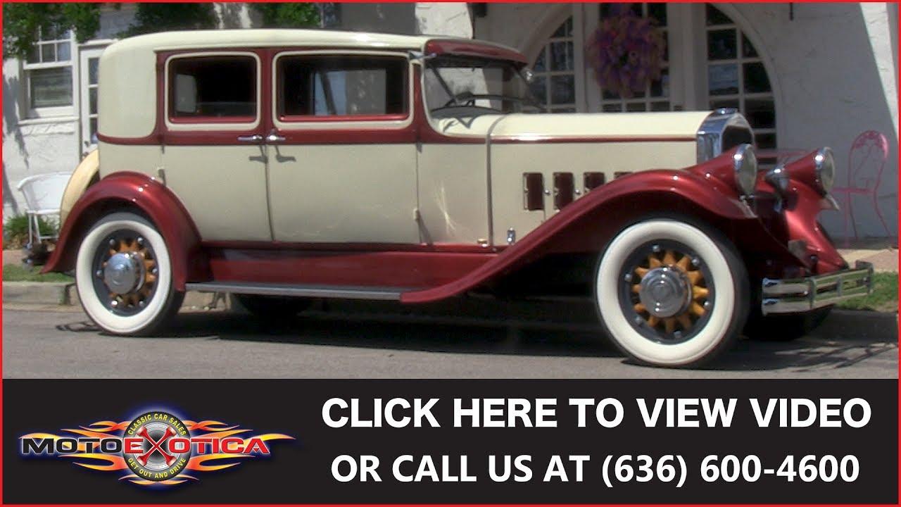 1931 Pierce Arrow 8 43 Club Sedan Sold Youtube 1930 Chevy Spare Tire Mount