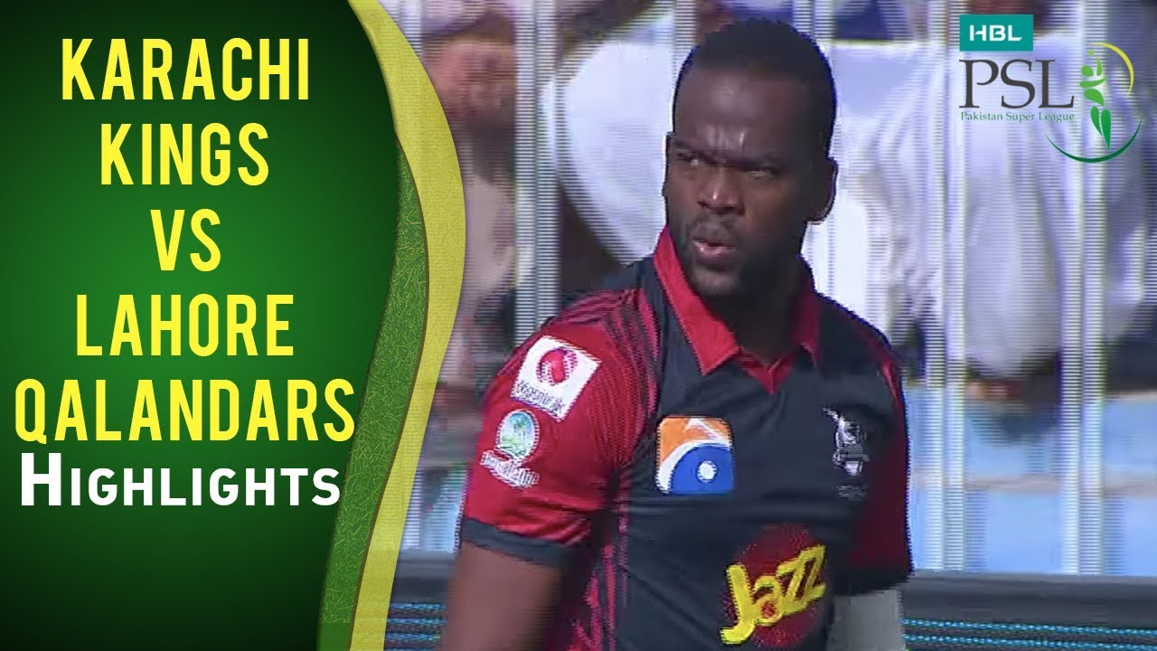 Match 12: Karachi Kings vs Lahore Qalandars - Highlights