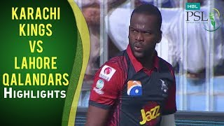 Match 12: Karachi Kings vs Lahore Qalandars - Highlights