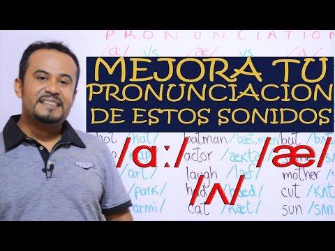 INGLES PRONUNCIACION: LOS 3 SONIDOS DE LA VOCAL A