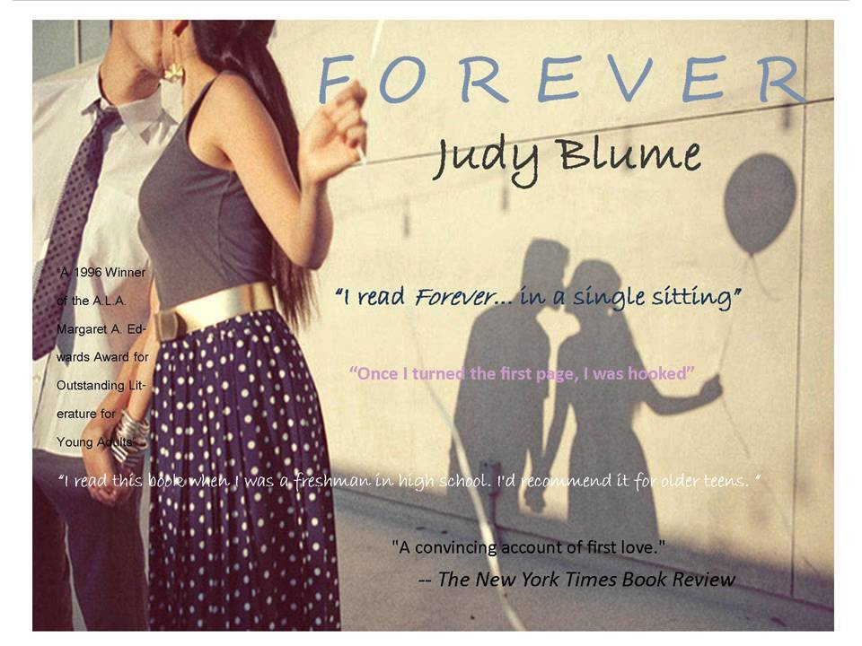 essays on forever by judy blume Her witty, insightful essays on over five dozen novels that set the standard for the   essay the solace she found in multiple readings of forever by judy blume,.