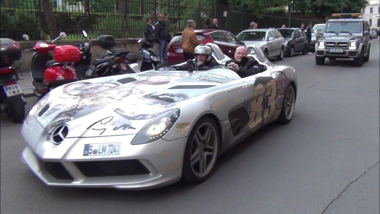 ☆GUMBALL 3000☆ Mercedes SLR McLaren, SLR Stirling Moss & SLS AMG ...