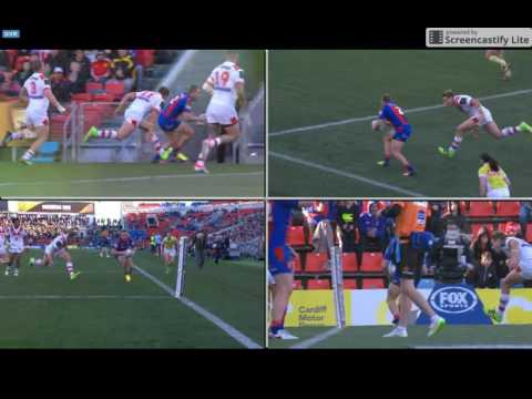 Miracle Nathan Ross Try, 25062016 Bunker Replay