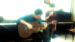 Bay (Thu Minh) Cover disco guitar