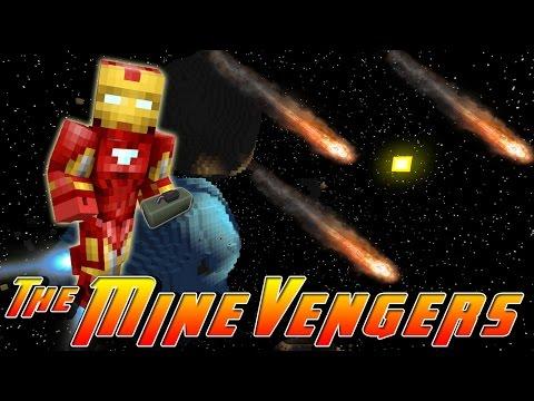 Minecraft MineVengers - METEOR ATTACK!!