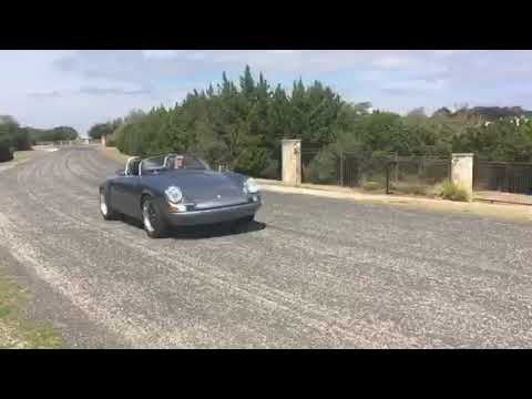 1971 Porsche 911E Speedster