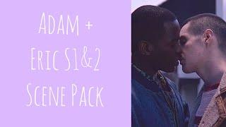 Adam & Eric Scene Pack || Sex Education Season 1-2 (1080p/HD)