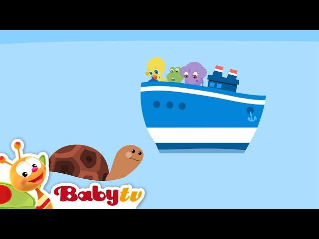 Zeilavontuur met Bath Tubbies, BabyTV Nederlands