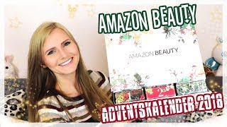 AMAZON BEAUTY Adventskalender 2018 UNBOXING