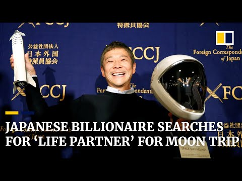 Captain Tony - Japanese Billionaire Looking For Girlfriend To Go To The Moon With