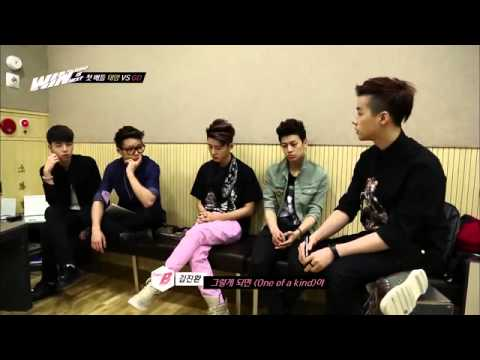 [ENG] WIN:  Team B Listening to Gdragon song
