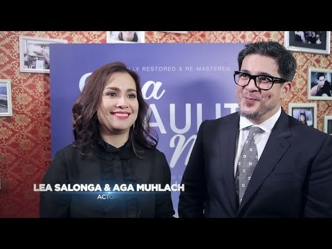 ABS-CBN Film Restoration: Lea Salonga & Aga Muhlach Interview