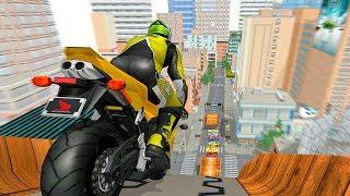 Mega Ramp Bike Stunts - Quad Bike Racing Simulator - Gameplay Android games
