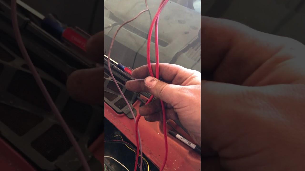lt1 swap 3rd gen camaro harness prep help  [ 1280 x 720 Pixel ]