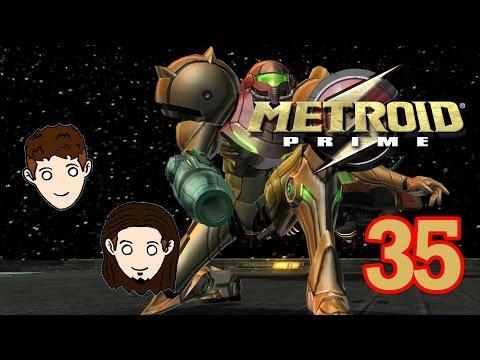 The Dragon Bros. ft. Deadpool Girl | Metroid Prime | Part 35 | Shopping Kart Lady