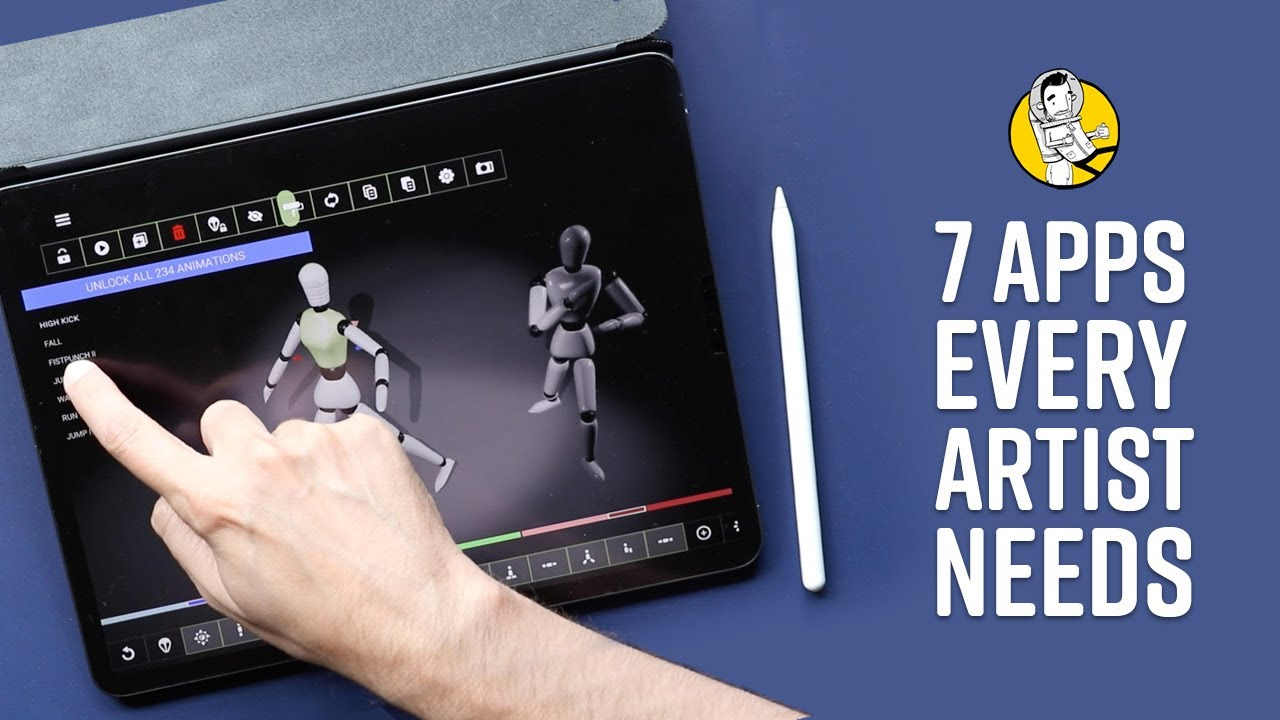 7 iPad Apps Every Artist Needs (that are not drawing apps)
